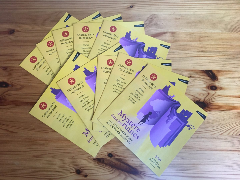 Brochures en rotative