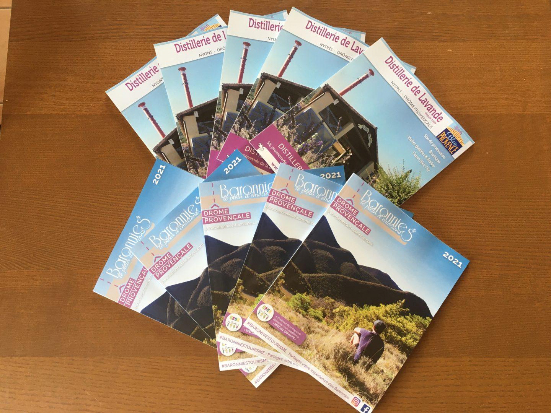 Magazine Touristique à fort tirage
